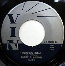 JIMMY CLANTON 45 What Am I Living For / Wedding Bells VG++ Pop R&B 1961 e2790
