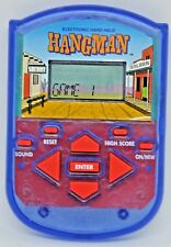 Hangman Electronic Handheld Game Milton Bradley Hasbro Tested & Free Shipping