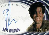 Farscape Through the Wormhole Rhys Muldoon Autograph Card A40