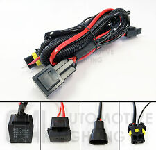 NEW HID Relay Harness 9005 9006 12V 35W Anti-Flicker Wiring Upgrade Kit w/Fuse