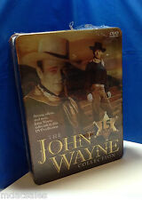 New!! The John Wayne Collection- 15 DVD Movies in Collectible Metal Box