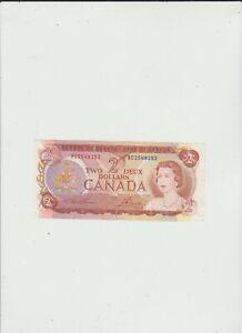 CANADA  2  DOLLARS  1974