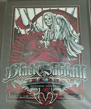 Black Sabbath Poster Scotiabank Saddledome Calgery, AB Canada 3/4/16 Signed
