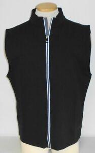 NWT Footjoy Osterville Full-Zip Golf Vest, Black, Large, 25194