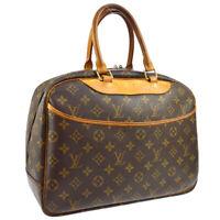 LOUIS VUITTON DEAUVILLE BUSINESS HAND BAG PURSE MONOGRAM M47270 A47781