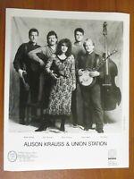 Vintage Glossy Press Photo Bluegrass Band Alison Krauss & Union Station #2