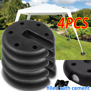4PC Outdoor Canopy Tent Leg Weights Anchor Stand Heavy Duty Umbrella Gazebo Base