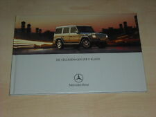 48701) Mercedes G-Klasse Hardcover Prospekt 05/2002