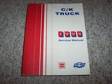 1994 Chevy Silverado C1500 K1500 Shop Service Repair Manual Cheyenne Diesel