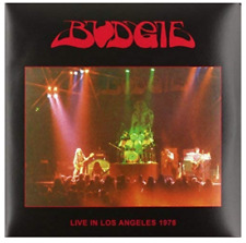 Budgie - Live In Los Angeles 1978 - New & Sealed Vinyl Lp