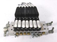 Festo Batterieblock PRMZ-5-M5-8 30248 + 7 Magnetventile MZH-5/2-1,5-L-LED 30220