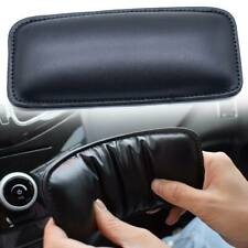 Leather Leg Cushion Knee Pad Foot Support Pillow Car Armrest Comfort Interior