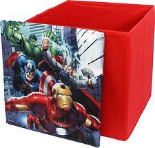 Marvel Avengers Di Forma Quadrata Bambini Scatola Portaoggetti Da BestTrend