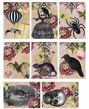 Halloween Bats & Rats Card Toppers ~ Scrapbooking / Crafting Card Making