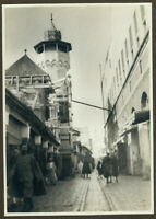 Foto Vintage Piktoralistische 1930 Algerien - Medinah Souk Moschee Minarett