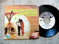 David Christie – Falling In Love In Summertime / Times Were Better  45 giri
