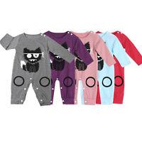NEONATO IN COTONE da bambini tutina INTERA vestiti completi UK