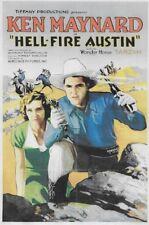 Hell-Fire Austin 1932 Ken Maynard, Ivy Merton Adventure Western DVD