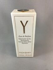 Y By Yves Saint Laurent 0.5 OZ Eau De Parfum Rechargeable Purse Spray Sealed Box