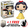 FUNKO POP DISNEY SNOW WHITE DIAMOND GLITTER #350 EXCLUSIVE + FREE POP PROTECTOR