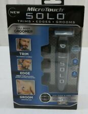 MicroTouch Solo Full Body Groomer Rechargeable Razor Trims Edges Grooms