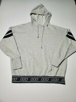 Uniquely Lorna Jane Heather Womens Gray Pullover Hoodie Sweater Size Small