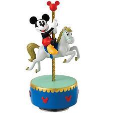 Enchanting Disney A28074 Come to the Fair Mickey Mouse Carousel Musical