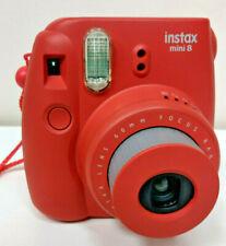 FujiFilm Instax Mini 8 Red Camera
