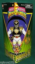 "Mighty Morphin Power Rangers White Talking Ranger New 8"" Factory Sealed 1995"