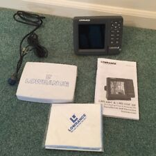 Lowrance LMS-520C DF GPS Fish Finder Graph (Only head, cover, power cable)
