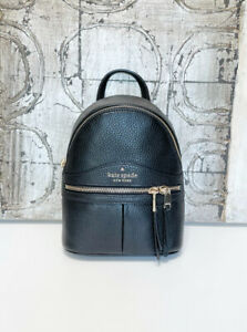 ❇️ Kate Spade Karina Mini Convertible Leather Backpack Crossbody Shoulder Bag