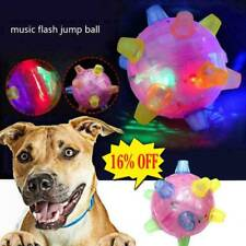 Pet Toys Jumping Activation Ball LED Jump Dance Ball Toy for Dog