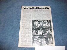 1974 Vintage Car Club Info Article on Vans-Am of Kansas City