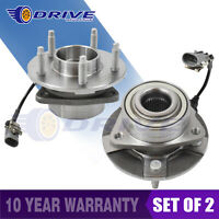 Pair 2 Front Wheel Hub Bearing Assembly 5 Stud for 02-07 Saturn Vue 4 Wheel ABS