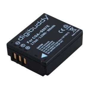 digibuddy Akku kompatibel zu Panasonic CGA-S007 Li-Ion 900mAh