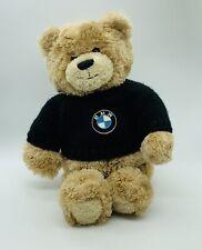 BMW Gund Honey Bear Plush Teddy Bear Knit Sweater Automotive Stuffed Animal Toy
