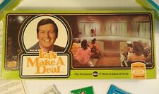 Vintage 1974 Let's Make A Deal Board Game Ideal Monty Hall Family Game COMPLETE