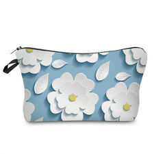 AUSSIE SELLER - 3D Flower Cosmetic Bag, Make-up Bag, Toiletry Bag, Pencil Case