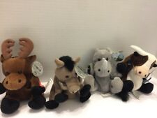 Coca Cola Animal Plush Collection Wild Animals See Pictures Collectible Coke Zoo