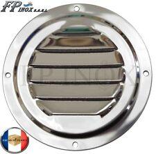 Grille inox Ronde Ø 102 mm inox Aération Ventilation