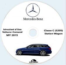 Mercedes-Benz Classe C Station Wagon (W205) modello 2016,Istruzioni d'Uso ITA