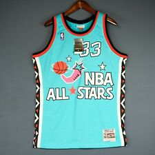 100% Authentic Patrick Ewing Mitchell Ness 96 All Star Swingman Jersey Size L 44
