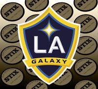 LA Galaxy Logo MLS Color Die Cut Vinyl Sticker Car Window Hood Bumper Decal