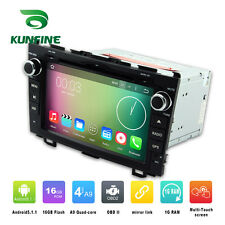 Android 6.0 Octa Core Car Stereo DVD GPS Navigation Player For Honda CRV 2006-11