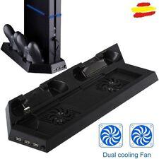 Base soporte vertical stand para PS4 Playstation 4 dock ventilador PS pie cooler