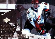 1996-97 UD Ice #132 Cory Sarich
