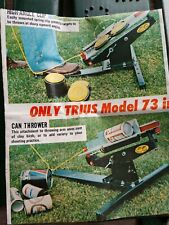 Can Thrower Attachment for Trius Model 73 Skeet Shooter Shotgun w Instructions
