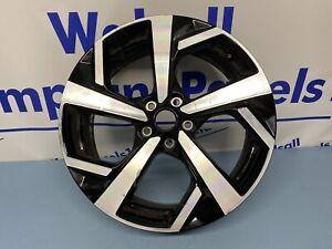 Nissan Qashqai 19'' BLACK DIAMOND CUT Alloy Wheel 2017 - 2020 Genuine HV05A