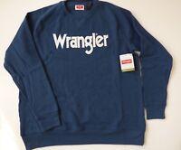 Wrangler Sweatshirt Crew Neck Men's Size S-3XL