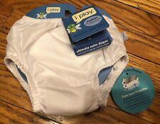 iplay swim diaper Medium White New With Tags